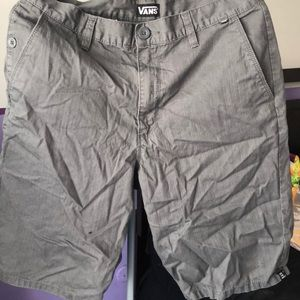 Grey Vans shorts